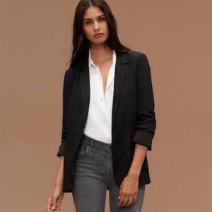 Aritizia Talula Kent Open Blazer Jacket Black - 4